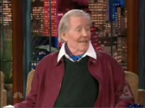 Peter O'Toole on Leno for Venus Part 1