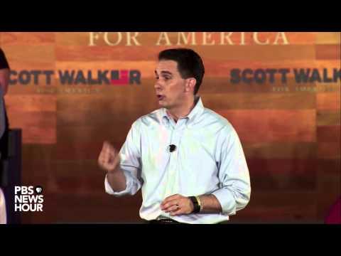 Watch Gov. Scott Walker declare his candidacy for U.S. presidency