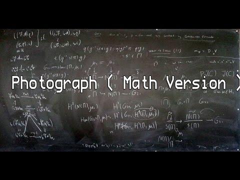 Photograph ( Math Version )
