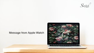 CG University: Message from Apple Watch