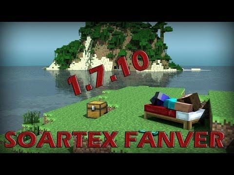 Como descargar soartex fanver para minecraft 1.7.10