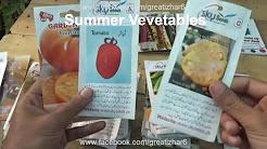Vegetables Grown in Summer Season   Fastest Growing Vegetables   Garden Ideas (Urdu/hindi)