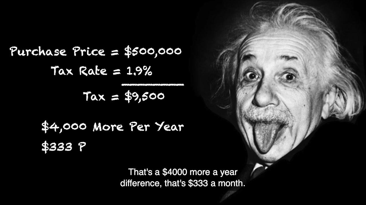 Taxes Seller & Buyer Beware
