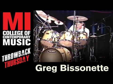 Greg Bissonette Throwback Thursday From the MI Library