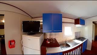 (Video 360) Space Mobilhome del Campeggio Norina a Pesaro, Vacanze nelle Marche