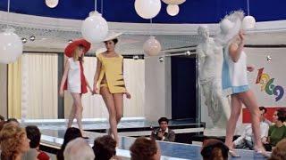 """Эротика в Советском кино. Пляжный ансамбль мини-бикини 69! """"Бриллиантовая рука"""" 1968 г."""