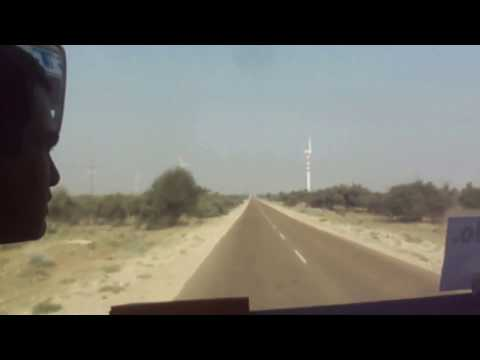 Biggest Wind Energy Park  - Jaisalmer Tourism - Rajasthan - India