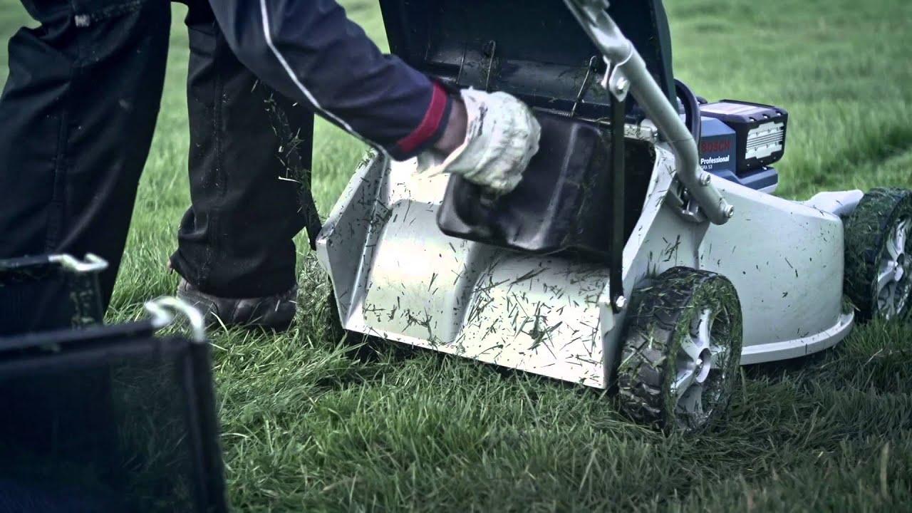 Outils de jardin sans fil professionnels Bosch – tondeuses (lame ...