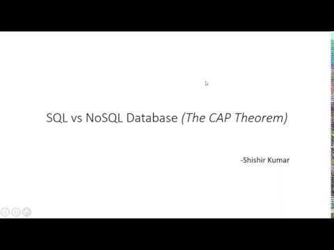 SQL vs NOSQL (The CAP Theorem) thumbnail