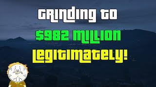 GTA Online Grinding To $982 Million Legitimately And Helping Subs