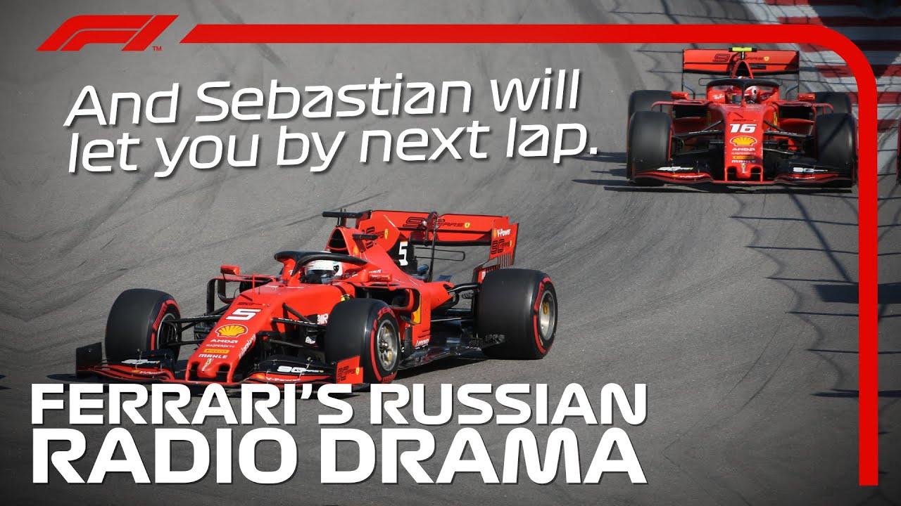 Ferrari Radio Drama | 2019 Russian Grand Prix
