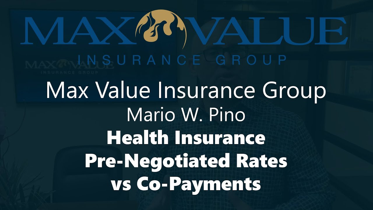 Save Money on Health Insurance: Pre-Negotiated Rates vs Co ...