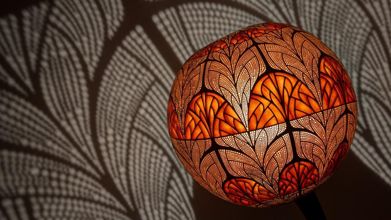 Unique Handcrafted Floor Lamp