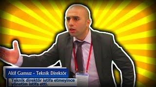 Gamsız Teknik Direktör Akif Vol 4 | Tahsin Hasoğlu | Video 20
