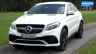 2016 Mercedes-AMG GLE 63 S (585hp) - DRIVE & SOUND (60FPS)