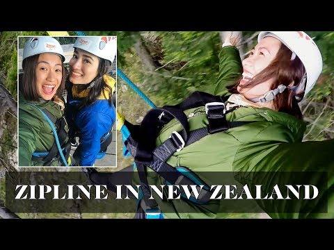 Zipline in New Zealand (ft. Nicole Andersson, BJ Pascual and Mark Nicdao) | Laureen Uy