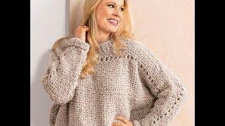 Связать Пуловер Спицами для Девушки - модели - 2019 / Knit Pullover Knitting needles for Girls