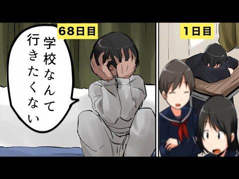 【漫画】不登校になったらどうなるのか?【マンガ動画】