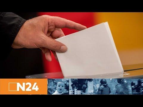 Bundestagswahl ruhig gestartet: Mit wem regiert Merkel und wie stark wird die AfD?