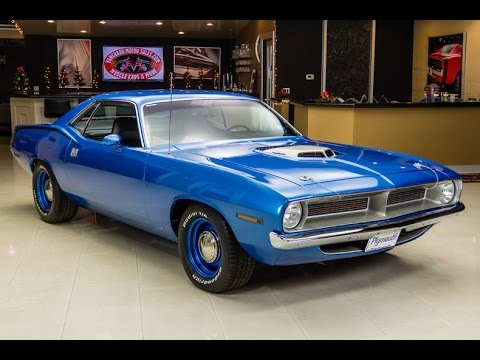 1970 Plymouth Cuda HEMI Recreation For Sale - YouTube