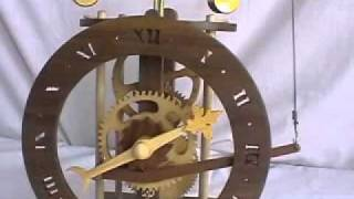 Wooden Mechanism Clock - Wee Willie