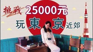 兩萬五千元能玩東京五天??!!