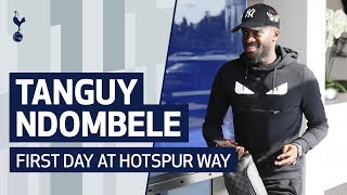 BEHIND THE SCENES | TANGUY NDOMBELE'S FIRST DAY AT HOTSPUR WAY!