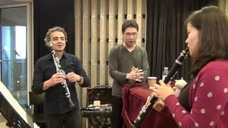 Pascal Moraguès master class in seoul clarinet academy
