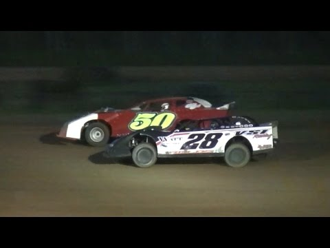 Street Stock Feature | McKean County Raceway | 8-18-16