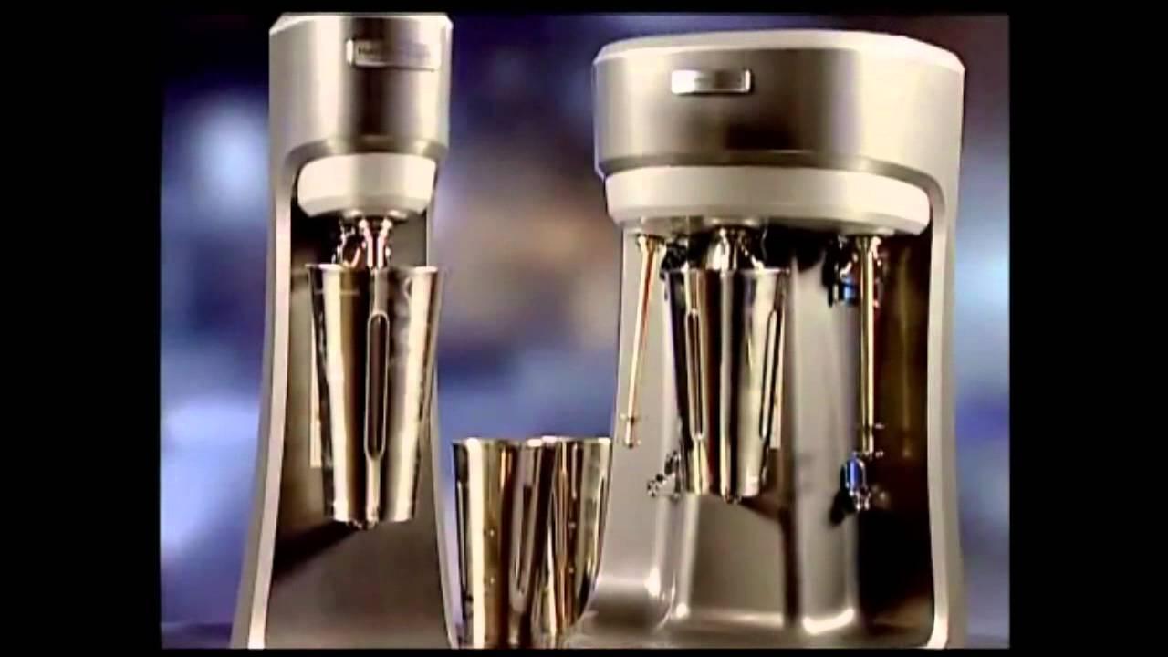hamilton beach commercial hmd200 u0026 hmd400 spindle milkshake mixers youtube - Milkshake Machine