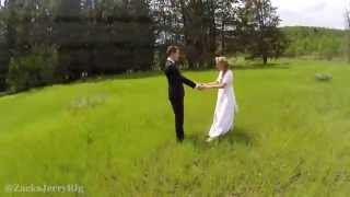 Beautiful Aerial Wedding Photography - DRONE FAIL!!
