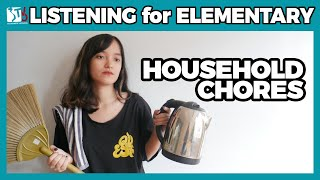 Household chores | Listening for Elementary | Learn Vietnamese with TVO