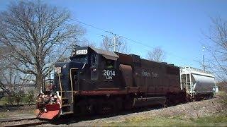 Eastern Shore Railroad Train Goes Down Bad Track