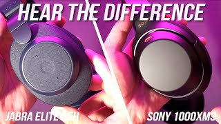 Jabra Elite 85h vs Sony 1000XM3 Noise Cancelling - Hear The Difference Here!