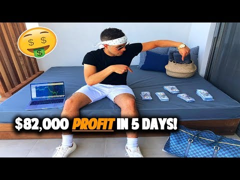 I Made $82,000 In 5 Days On My Dream Vacation - Trading Forex