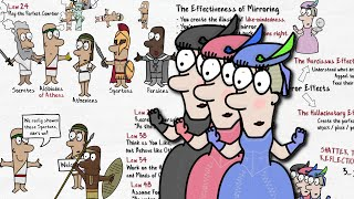 44 DISARM & INFURIATE WITH THE MIRROR EFFECT | The 48 Laws of Power | Animated Book Summary