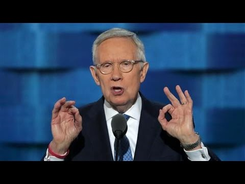 Harry Reid Takes Parting Shots At Rival Mitch Mcconnell Youtube