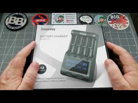 Beamday Battery Charger. C4 From Gearbest.And A Wee Sorry At The End.