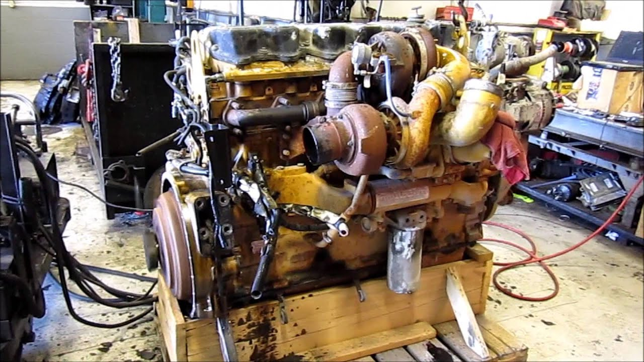 2006 Cat C15 Acert Diesel Engine Running Youtube