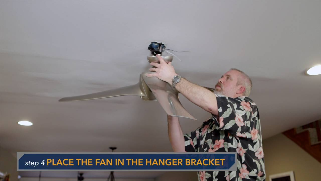emerson luray eco ceiling fan standard installation cf860 - youtube