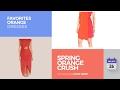 Spring Orange Crush Favorites Orange Dresses