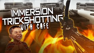 Cafe SP: Black Ops 3 Immersion Trickshotting - (3 SHOTS)