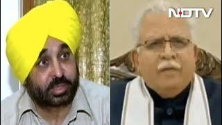 AAP MP Bhagwant Mann Slams Haryana Government Over Farmers' Protest