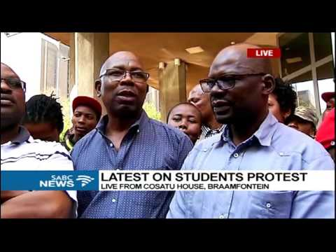 BREAKING NEWS: Cosatu will join student march on 14 October