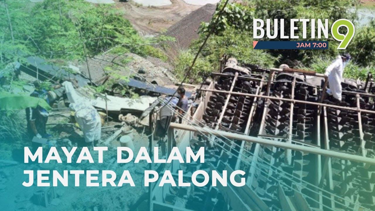 Lelaki Indonesia Maut Dikisar Jentera Palong Bijih Besi