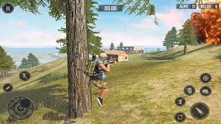 Free Firing battleground squad: free fire squad | New android gameplay screenshot 5
