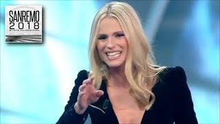 Sanremo 2018 - Michelle Hunziker: