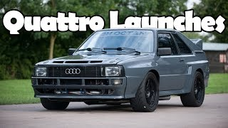 Most Insane Audi Quattro Launches