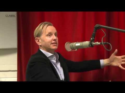 Max Raabe's visit to radio Classic's studio