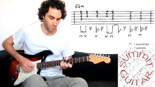 fela kuti yellow fever afrobeat guitar lesson tutorial cover with tablature